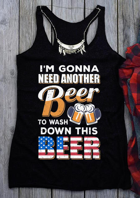 Another Beer To Wash Down This Beer Tank – Black