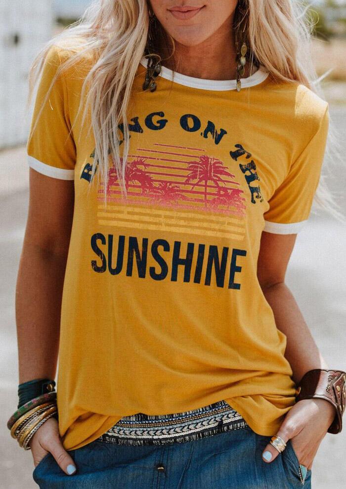 Bring On The Sunshine T-Shirt фото
