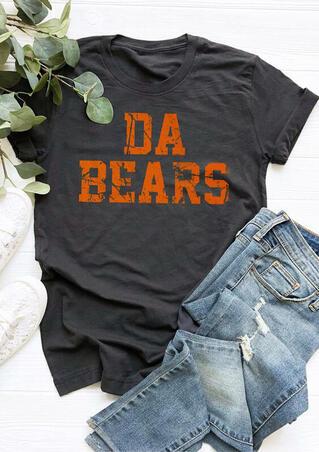 Da Bears O-Neck T-Shirt Tee - Dark Grey