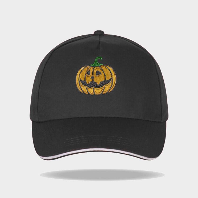 Halloween Pumpkin Face Baseball Cap