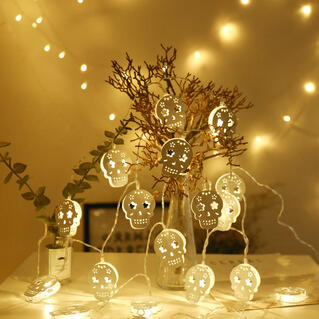 Halloween Skull 20 LED String Light