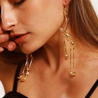 Halloween Skeleton Women's Earrings