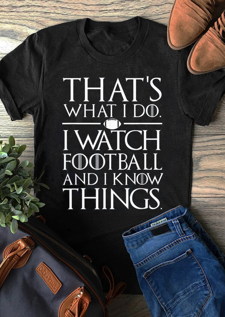 This Is What I Do T-Shirt Tee – Black