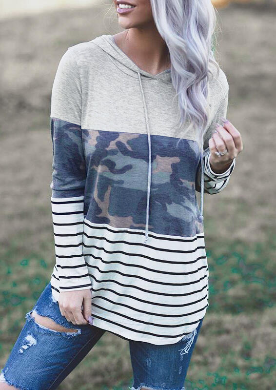 Hoodies_&_Sweatshirts_Camouflage_Striped_Printed_Hoodie__Gray_Size_SMLXL
