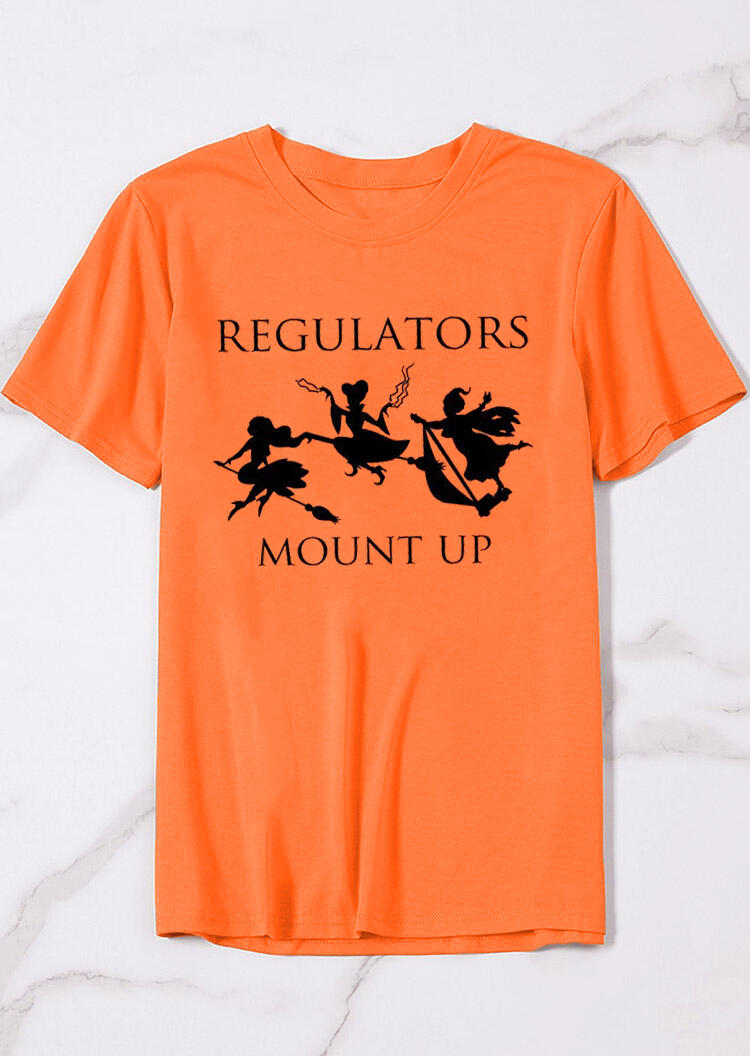 Tees_Tshirts_Regulators_Mount_Up_TShirt_Tee__Orange_Size_SMLXL