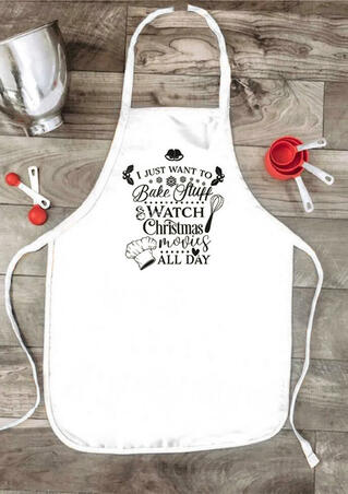 Christmas I Just Want To Bake Stuff Apron
