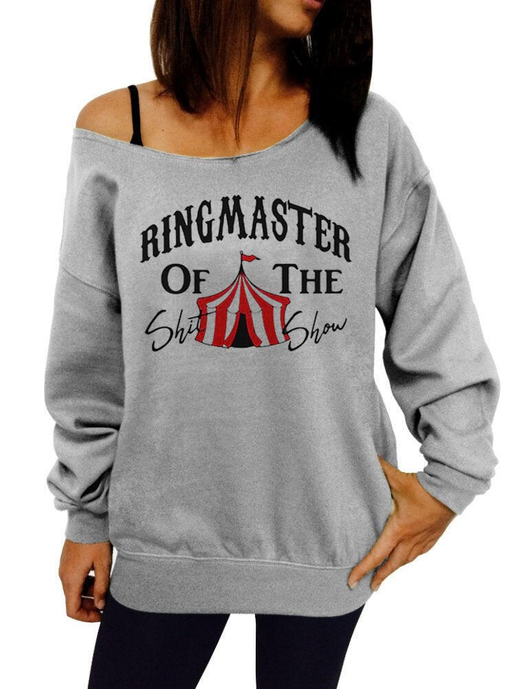Ringmaster Of The Show Sweatshirt – Gray