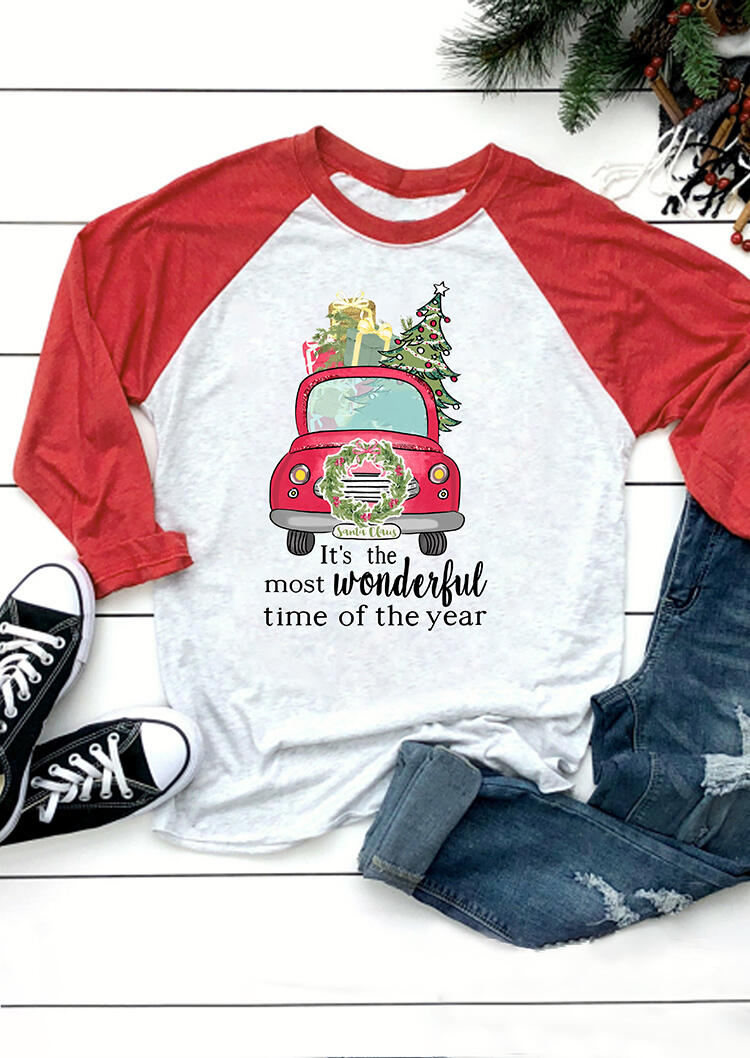 It's The Most Wonderful Time Of The Year T-Shirt Tee – Gray