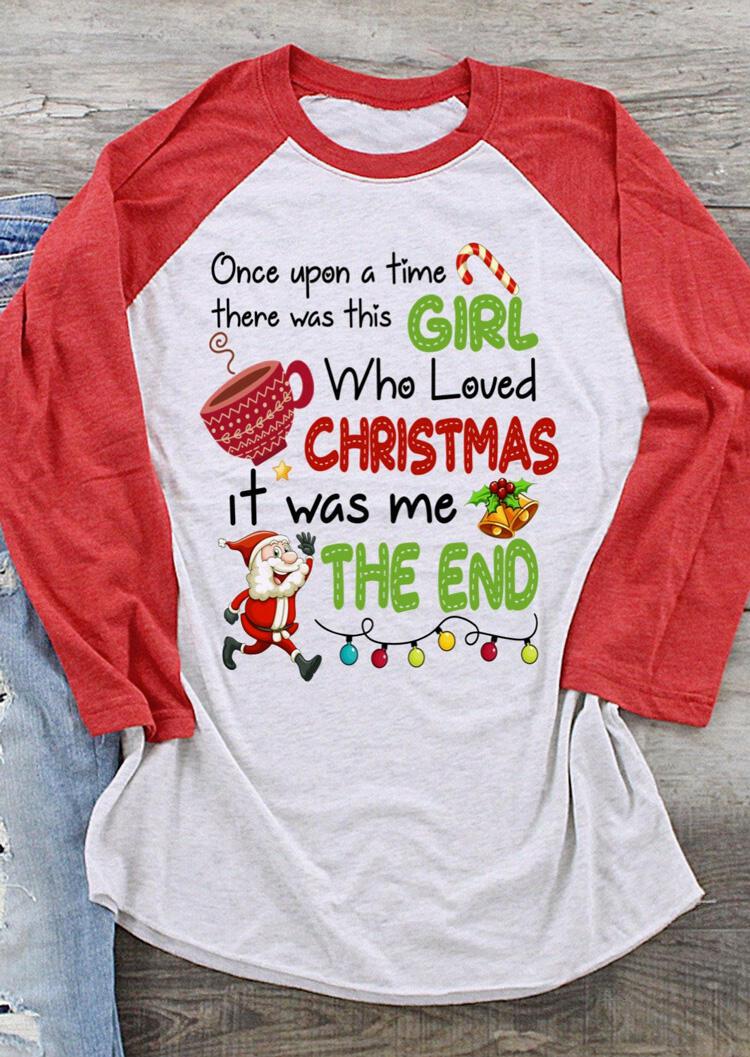 Girl Who Loved Christmas T-Shirt Tee – Light Grey