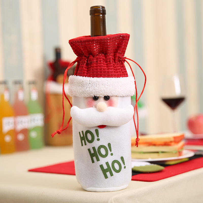 Christmas Wine Bottle Packing Cover Ornament