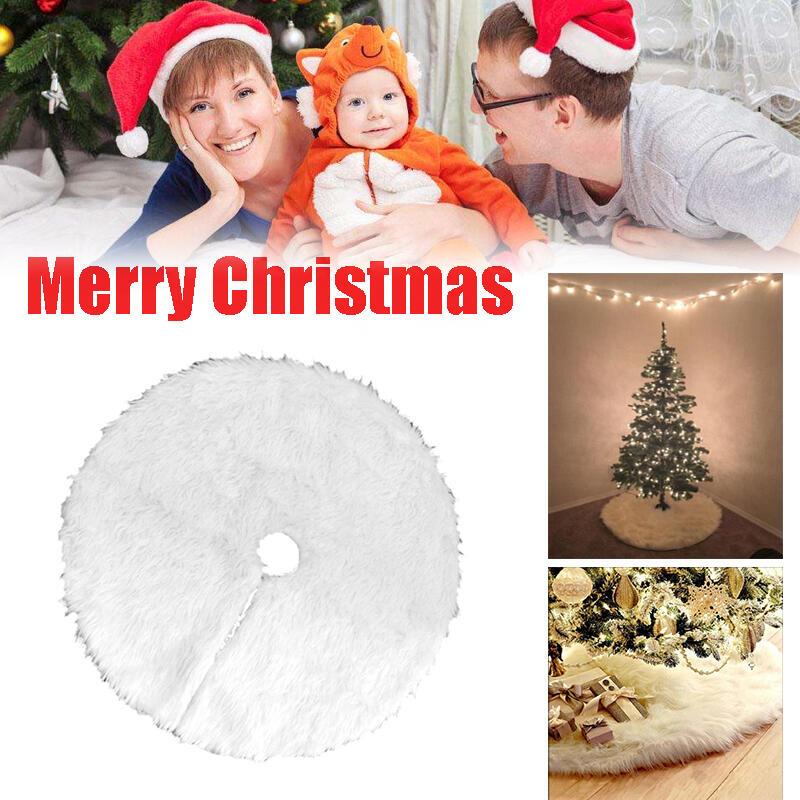 Solid Christmas Tree Skirt