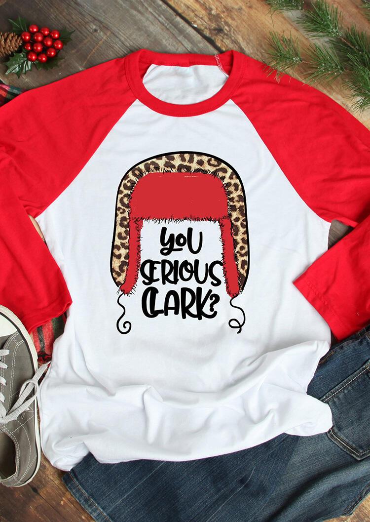 You Serious Clark T-Shirt Tee – White
