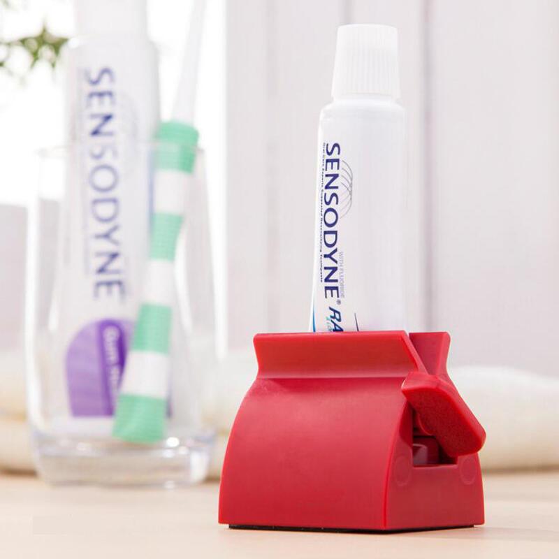 Decoração de casa de ABS Criativo casa de Banho Tubo de pasta de dentes
