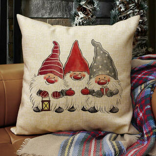 Gnomies Pillowcase without Pillow