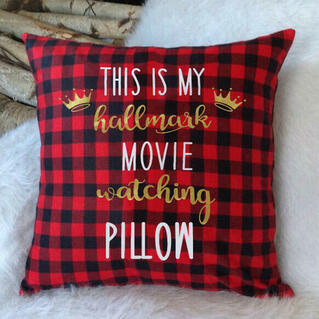 This Is My Hallmark Movie Watching Pillowcase without Pillow