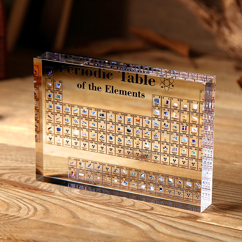 Heritage Periodic Table Display of Element Collection in White. Size: One Size фото