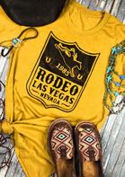 1985 Rodeo Las Vegas Nevada O-Neck T-Shirt