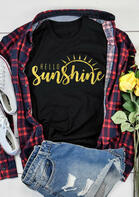 Hello Sunshine O-Neck T-Shirt