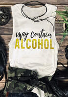 Trendy Summer Outfits May Contain Alcohol Tank