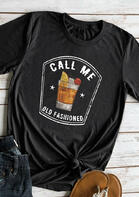 Summer Outfits Call Me Old Fashioned T-Shirt Tee