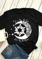 Summer Outfits Live By The Sun Love By The Moon T-Shirt Tee