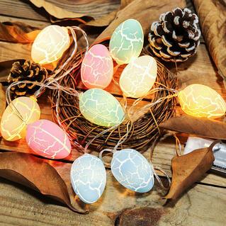 Easter Day Egg Decoration Light String