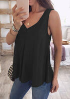 Summer Outfits Loose V-Neck Tank