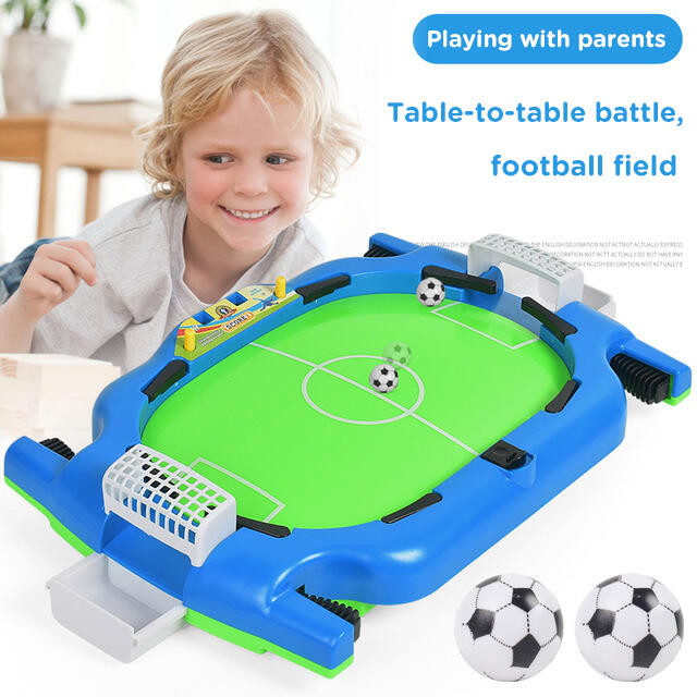 Hobbies and Toys Children Interactive Mini Soccer Board Game фото