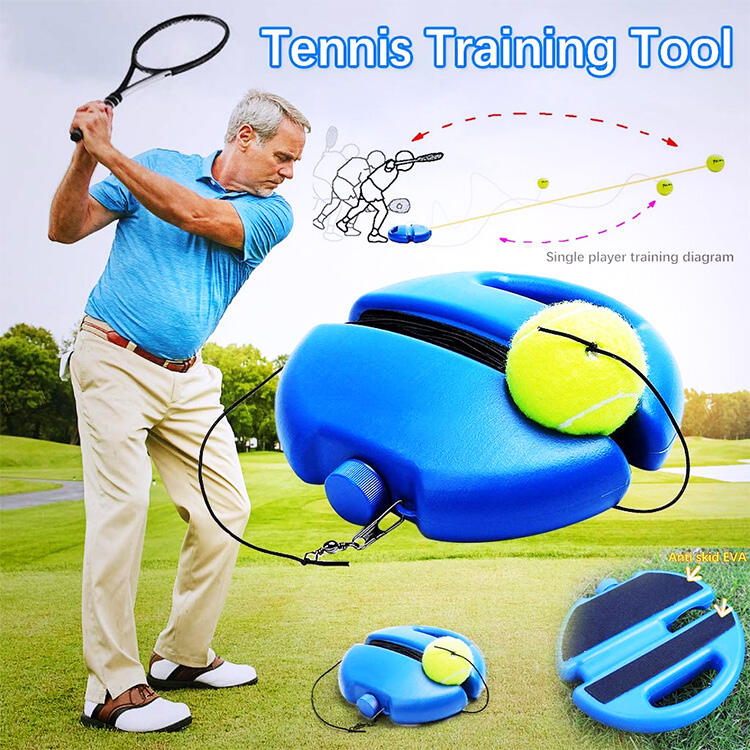 Sport Product Solo Tennis Trainer without Balls фото