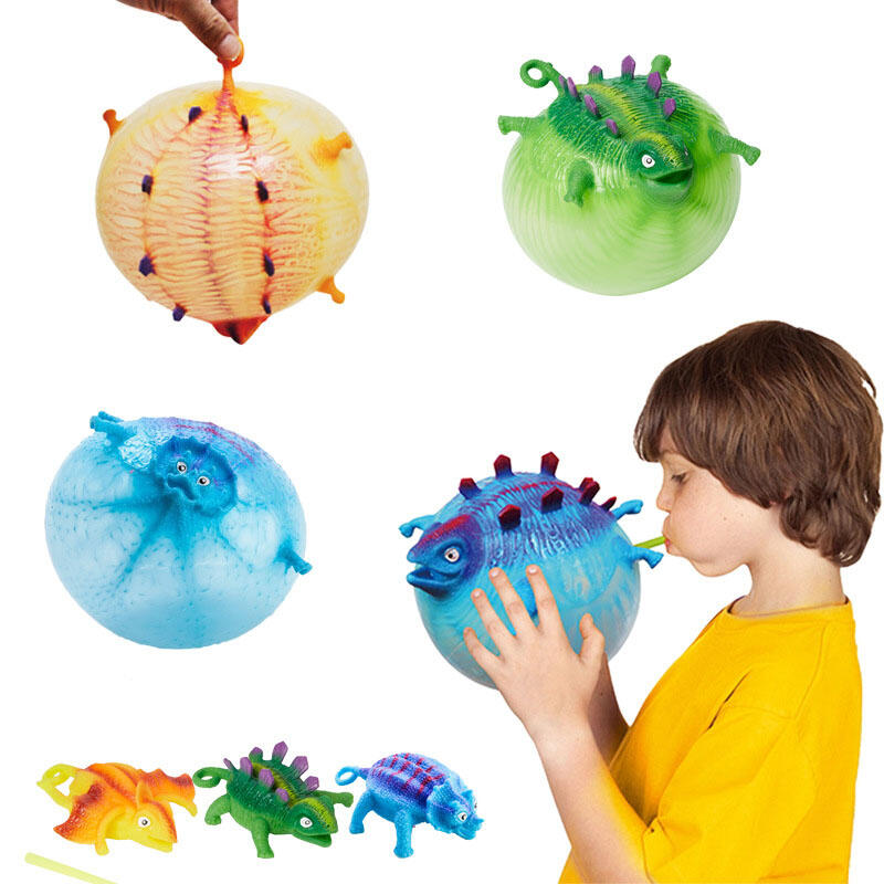 Hobbies and Toys Inflatable Dinosaur Ball Kids Toy Water Balloon фото