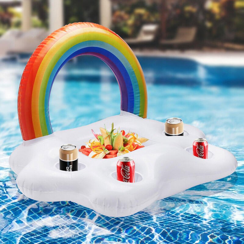 Summer Inflatable Floating Row Swimming Ring фото