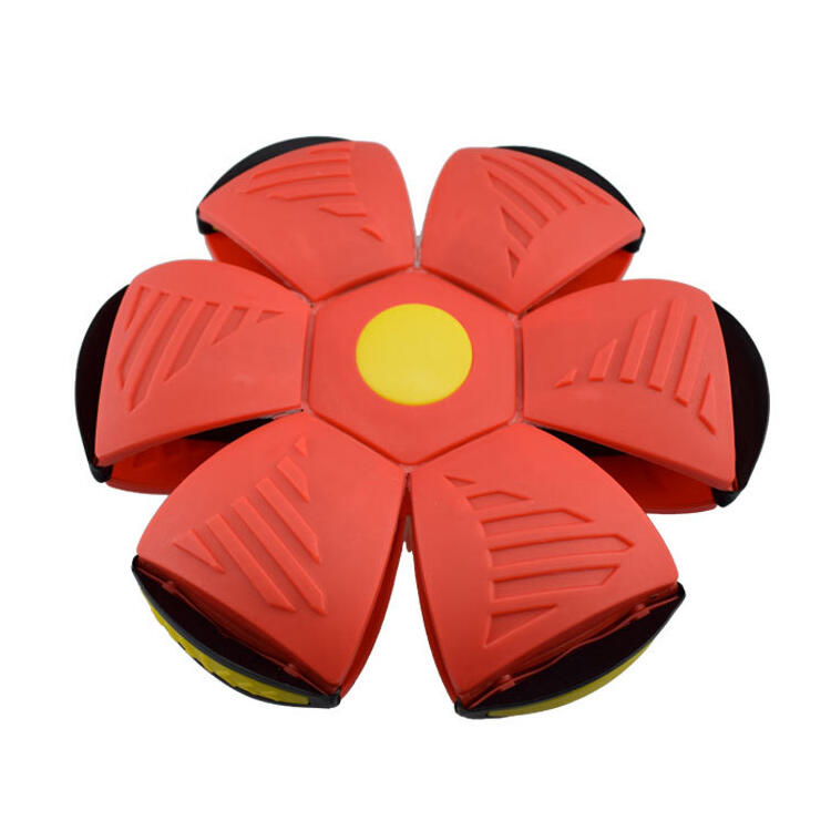 Sunflower Flying UFO Flat Throw Disc Ball