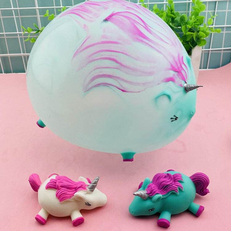 Hobbies and Toys Funny Unicorn Inflatable Decompression Toy фото