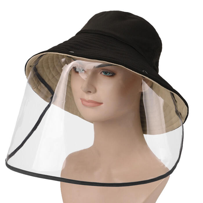 Fairyseason coupon: Detachable Splash-Proof Face Shield Fisherman Hat