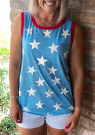 Star Independence Day O-Neck Tank
