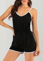 Summer Outfits Ruffled Spaghetti Strap Romper