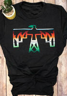 Gradient Thunderbird T-Shirt Tee
