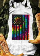 New Arrivals American Flag Nurse Tank