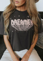 Dreamer Star O-Neck T-Shirt Tee