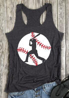 Baseball O-Neck Tank