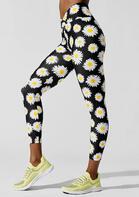 Daisy Yoga Fitness Activewear Leggings