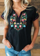 Summer Outfits Floral Lace Splicing Ruffled Tank
