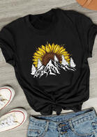 Sunflower Mountain T-Shirt Tee
