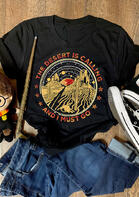 Summer Outfits The Dessert Is Calling And I Must Go T-Shirt Tee