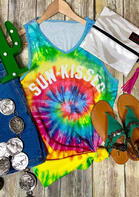 Tie Dye Sun-Kissed Tank