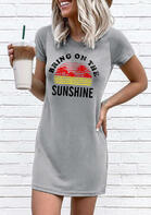 Summer Outfits Bring On The Sunshine Mini Dress