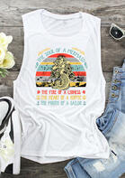 The Soul Of A Mermaid Tank - White