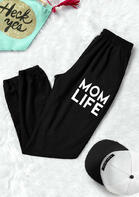 Mom Life Pocket Activewear Sports Leggings