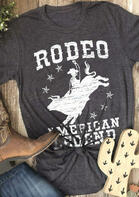Rodeo American Legend T-Shirt Tee