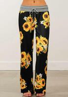 Sunflower Drawstring Wide Leg Pants
